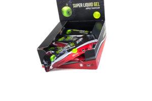 Prodotto Born scatola gel super liquido al gusto di mela con carboidrati