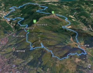 Evento Monte Maggiore Trail Percorso