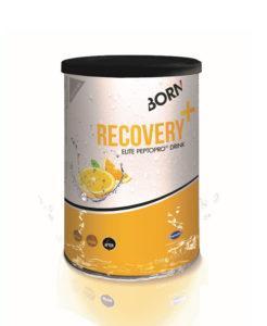 Prodotto bevanda per recupero rapido senza lattosio Born Recovery+ Agrumi