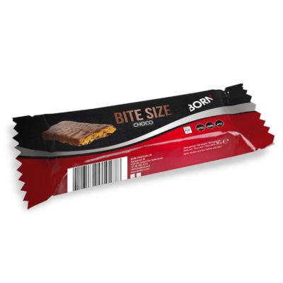 Prodotto barretta energetica formato spuntino Born Bite Size Choco Cioccolato