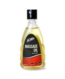 Prodotto olio puro al 100% Born Massage Oil per massaggi professionali