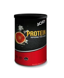 Prodotto bevanda con proteine per recupero rapido Born Protein Peptopro Recovery Arancio