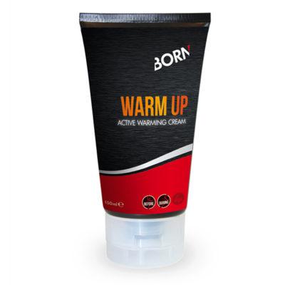 Prodotto crema per il corpo riscaldante energizzante Born Warm Up
