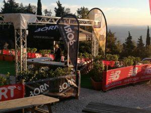 Born Italia Monte Morello Sky Trail Montaggio Stand