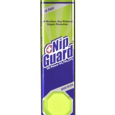 Prodottto cerotti anti sfregamento per capezzoli NipGuard tubo 10 paia